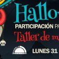 Participación taller maquillaje halloween